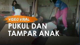 Viral Video Ibu Jambak, Pukul dan Tampar Anak Perempuannya