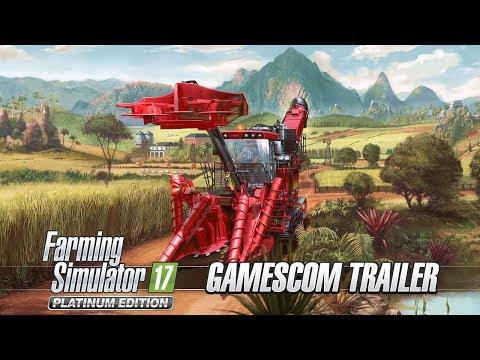 Farming Simulator 17 Platinum Edition – Gamescom Trailer thumbnail