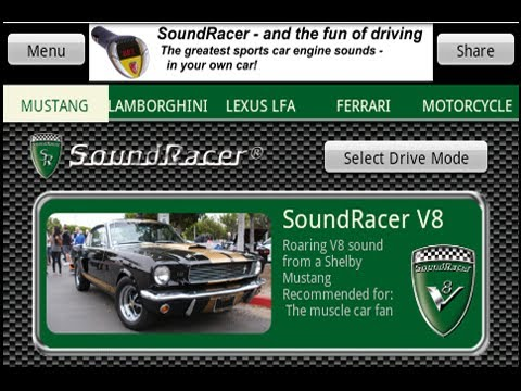 Video of SoundRacer FREE Car Sounds