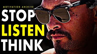 STOP and THINK! Motivational Speech - AMAZING SPEECH FOR 2019