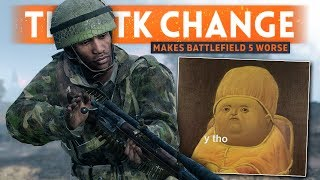 DICE JUST MADE BATTLEFIELD 5 WORSE - My BF5 TTK Change Reaction (Time To Kill)