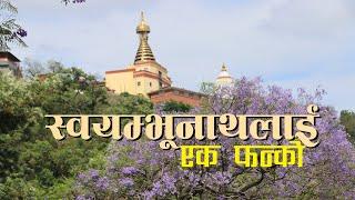 स्वयम्भु नाथलाई एक फन्को । Trip Swayambhunath Stupa ……………… Visit Swayambhu l visit nepal