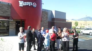Wendy's West Valley City Ribbon Cutting