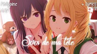 ◤AMV◢ ↬ Sors De Ma Tête ( Lyrics )