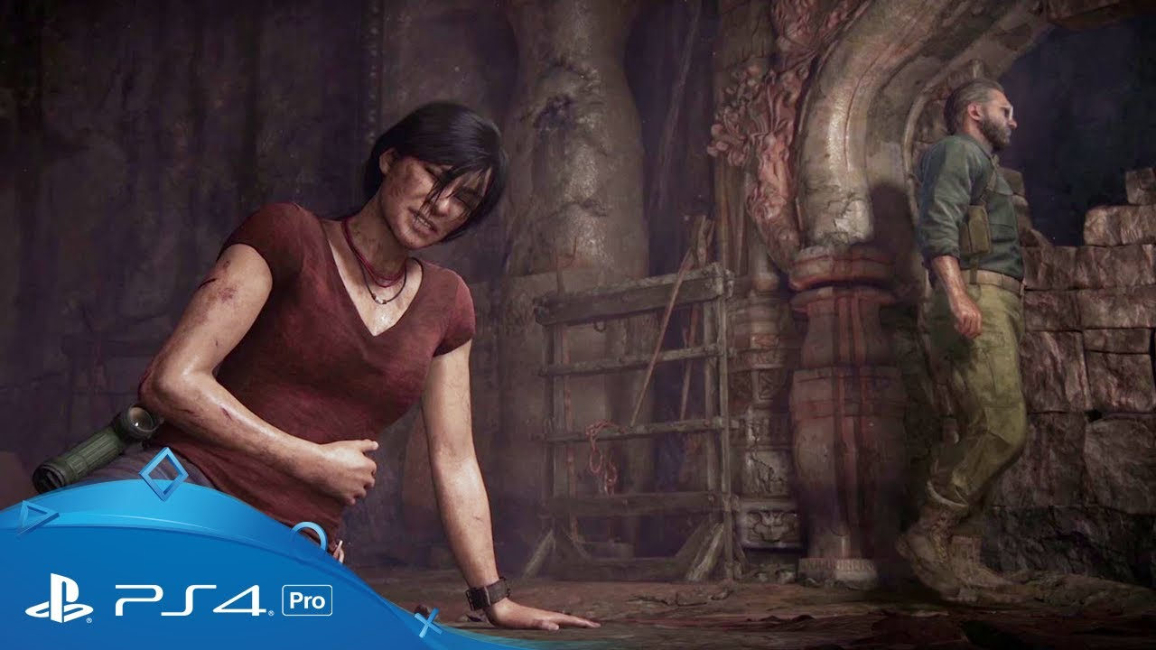 Watch Chloe and Nadine battle through ancient ruins in the extended Uncharted: The Lost Legacy E3 demo