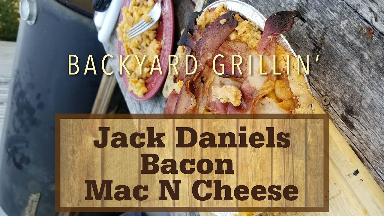 Jack Daniels Bacon Mac N Cheese Pie