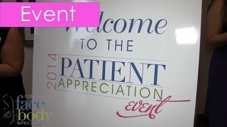 Clevens Face and Body Specialists Patient Appreciation Event June 2014