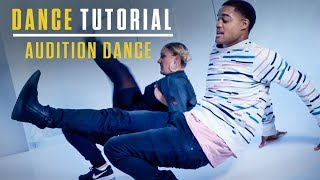 Step Up: High Water | Dance Tutorial | Audition Dance