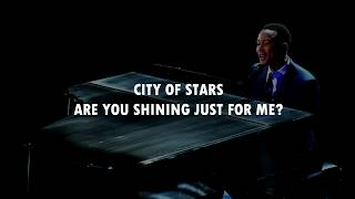 Trình diễn - John Legend  City Of Stars & Audition – Medley  Lyrics   Oscars 2017   La La Land