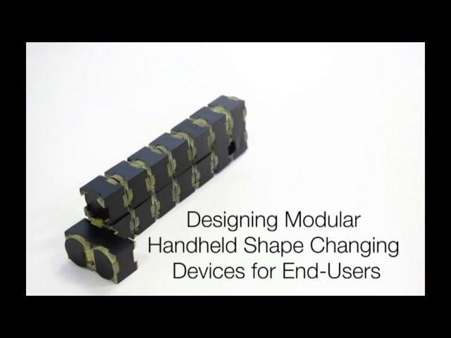 Cubimorph: прототип сенсорного устройства-трансформера с изменяемой формой