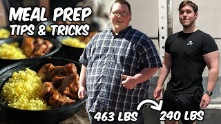 How to Meal Prep for WEIGHT LOSS (Beginner)