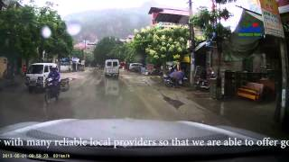 preview picture of video 'Dong Dang - Lang Son - Cao Bang - National Road 1A'