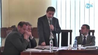 preview picture of video 'XLI Sesja Rady Miejskiej w Kętach TVK HD'