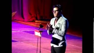 Discours Zachary Quinto Trevor Live 2012