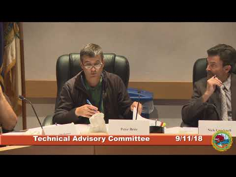 Technical Advisory Committee 9.11.18