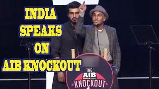 India Speaks On AIB Knockout  The Roast Of Arjun Kapoor And Ranveer Singh  By Runway Adda