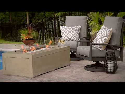 Cove 1242 Gas Fire Pit Table by The Outdoor GreatRoom Company