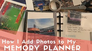 How I Print Photos For My Mini Happy Planner, Memory Planner