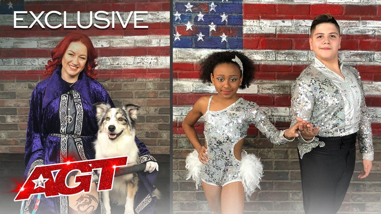 Jennifer & Daiquiri and Simon & Maria Recap Their Magical AGT Auditions - America's Got Talent 2020 thumbnail