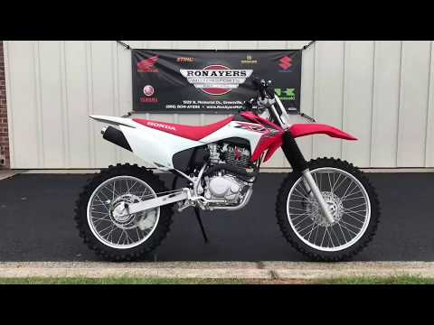 2019 Honda CRF230F in Greenville, North Carolina - Video 1