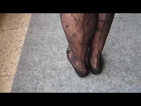 Spitzenstrumpfhose