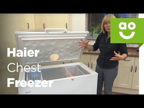 Haier Chest Freezer BD-319RAA_WH Product Review | ao.com