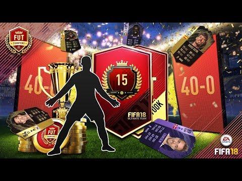 FIFA18 FUT CHAMPIONS 40-0 REWARDS WITH BORASLEGEND AND RYAN!!