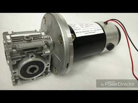 PMDC Worm Geared Motor 200W
