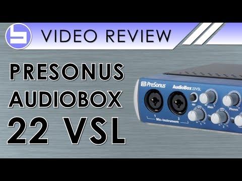 presonus audiobox 22vsl driver windows xp