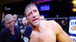 Stephan Bonnar's invite to Tito Ortis