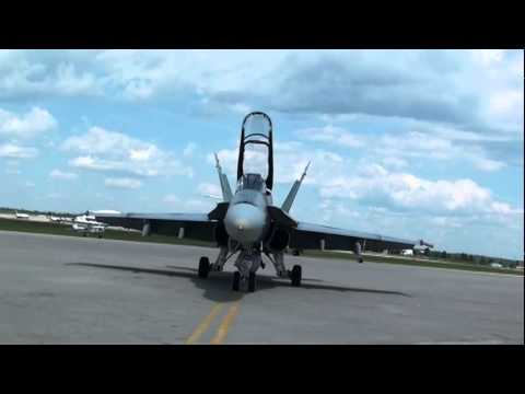 F-18 Startup And Takeoff Mp3