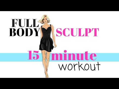 HOME WORKOUT FULL BODY SCULPTING - TONING EXERCISES FOR ARMS, THIGHS, WAIST AND ABS - LOW IMPACT