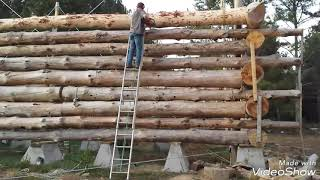 Download Youtube: Stacking one log, start to finish, LHBA method