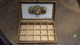 Cigar Box Dividers