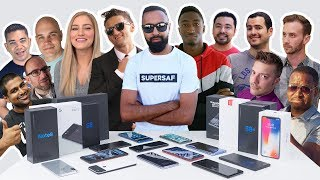 Which SMARTPHONES Do We Use? 2017 YOUTUBER Edition with Casey Neistat, MKBHD, iJustine + More