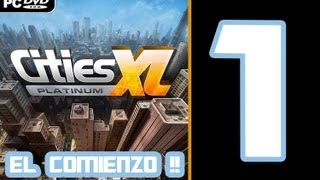 preview picture of video 'Cities XL Platinum. ¿Cómo empezar una ciudad bien? 1080p !'