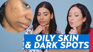Oily Skin and Dark Spots Skincare Routine for Linsey! | #SKINCARE
