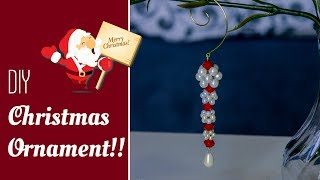 DIY Super Easy Christmas Ornaments 2019 | Christmas Crafts  | Beads Art