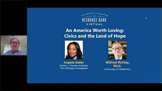 An America Worth Loving: Civics and the Land of Hope
