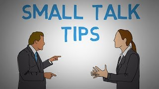 Small Talk - How to Start a Conversation - Tips and Tricks (animated)