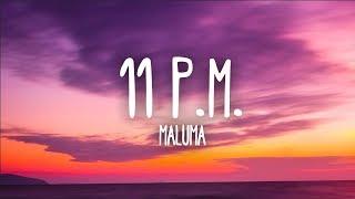 Maluma   11 P.M. (Letra)