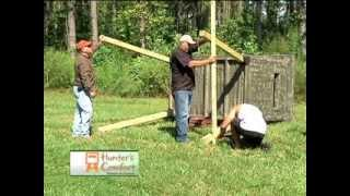 How To Elevate Your Hunting Blind