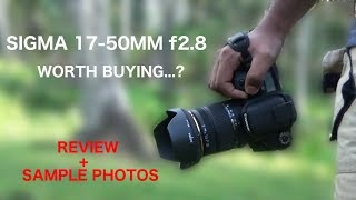 Sigma 17-50mm f2.8 review and sample images