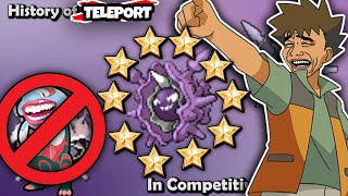 Cloyster  - (Pokémon) - So I Took Over The Ladder With TELEPORT Cloyster...