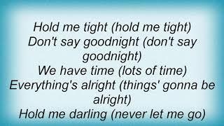 Aaron Neville - Close Your Eyes Lyrics