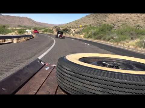 Hot Rods Rolling down the Highway
