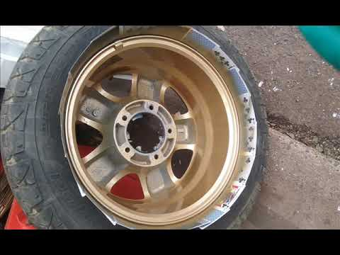 94 Geo Tracker with 2001 Suzuki Grand Vitara Wheels Restauration