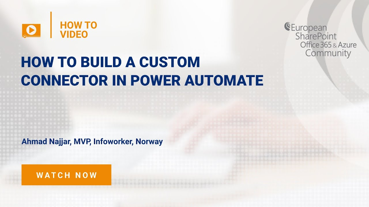 How To build a Custom Connector in Power Automate