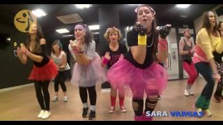 Material Girl. Madonna- Zumba. Coreografia de Sara Vargas