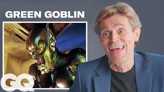 Willem Dafoe Breaks Down His Most Iconic Characters   GQ